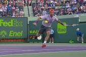Tennis, ATP Miami: Rafa Nadal trafitto a rete da Verdasco [VIDEO]