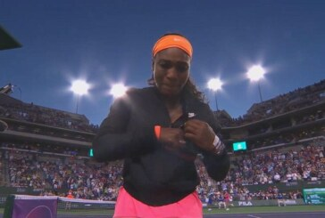 Tennis, WTA Indian Wells: Serena Williams piange all'entrata [VIDEO]