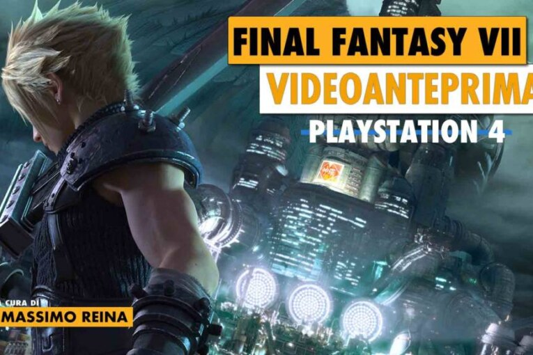 Game Preview: Final Fantasy VII Remake, l'anteprima dall'E3!